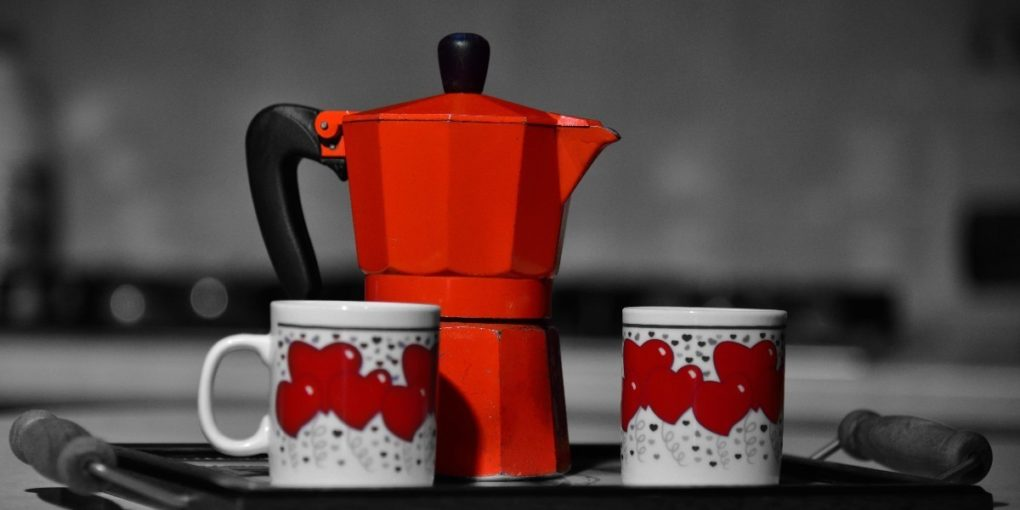 how to make coffee moka pot
