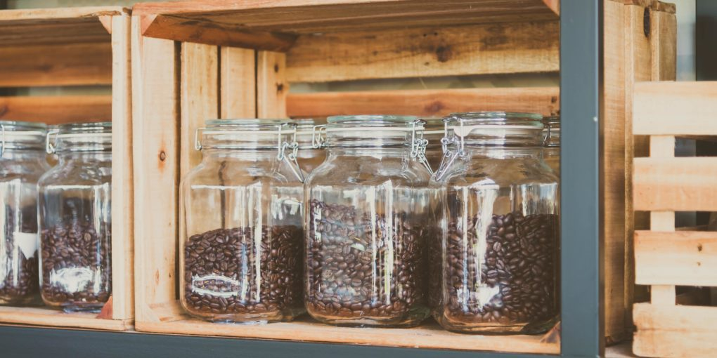 where to store ground coffee