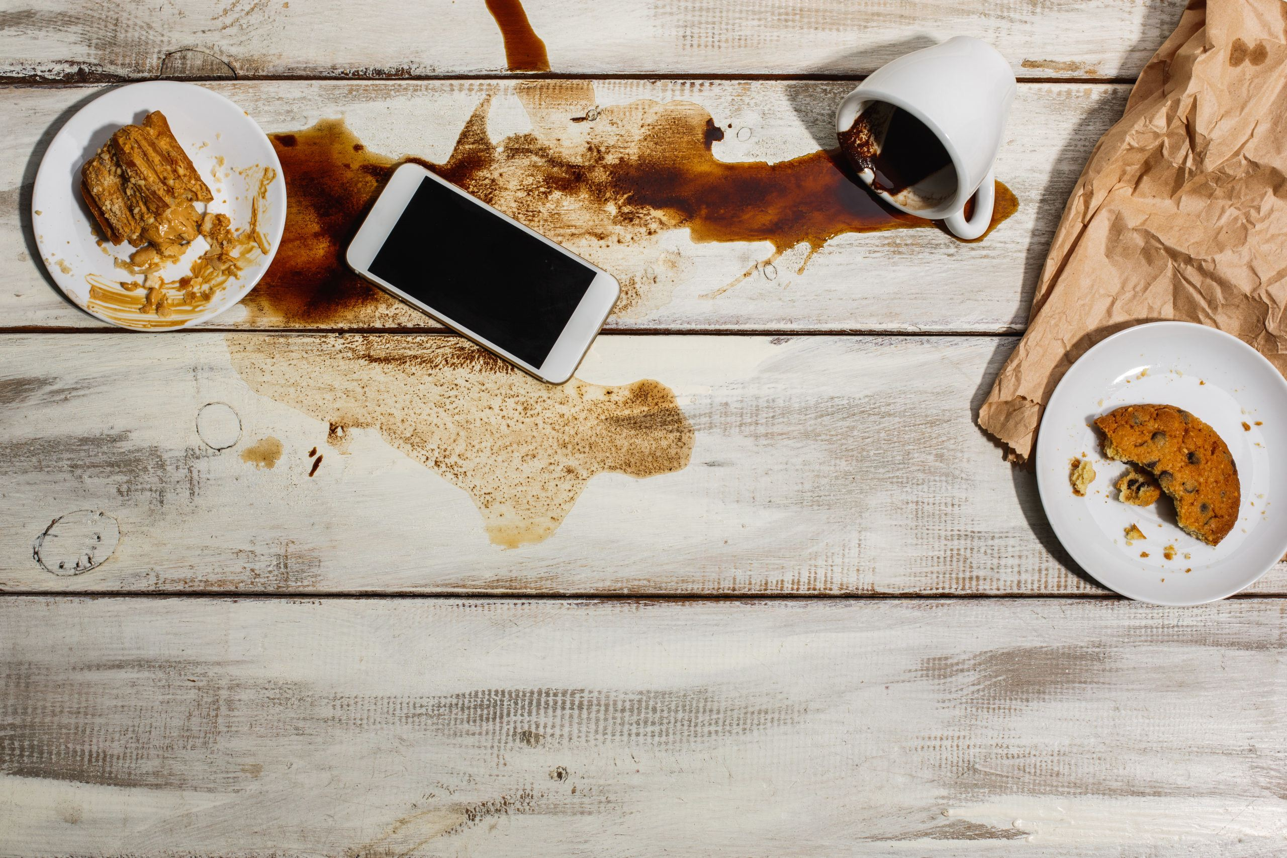 how to get coffee stain out of clothes