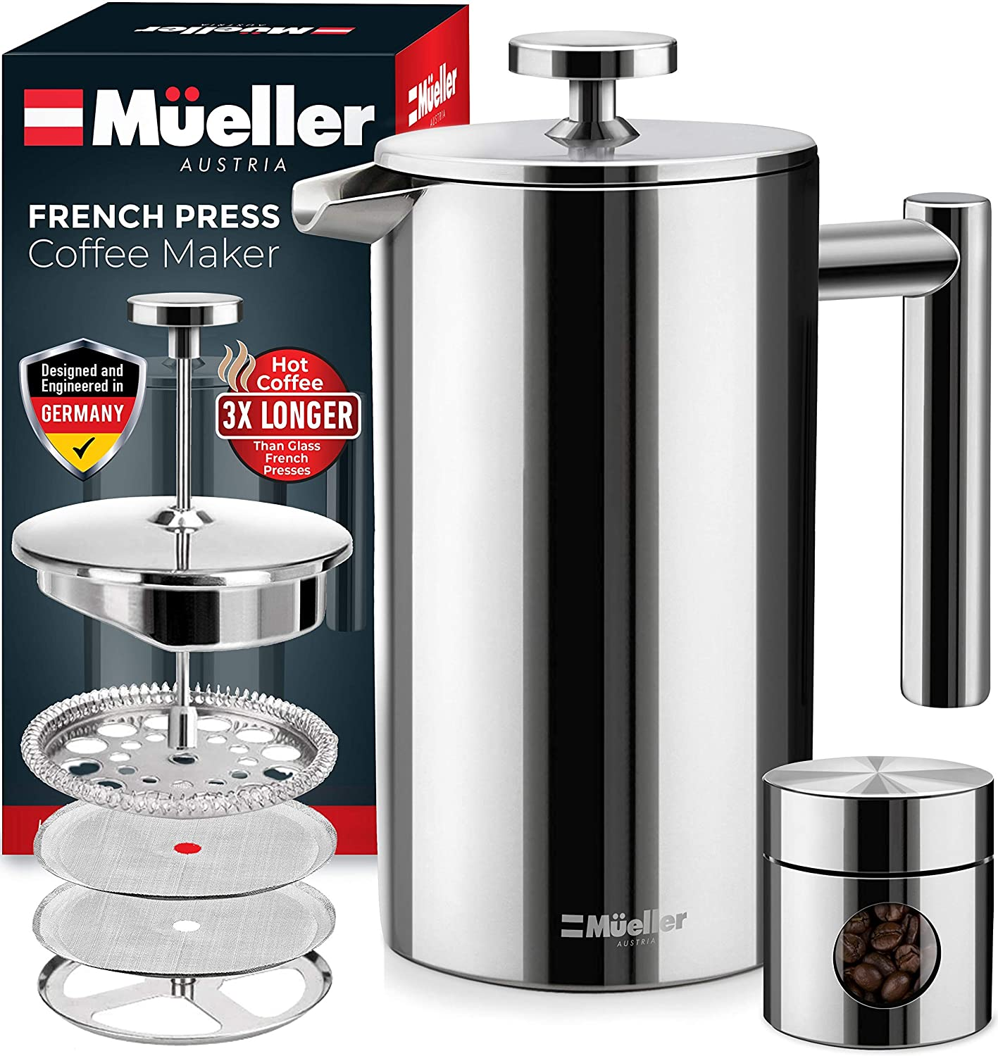 French Press Double Insulated