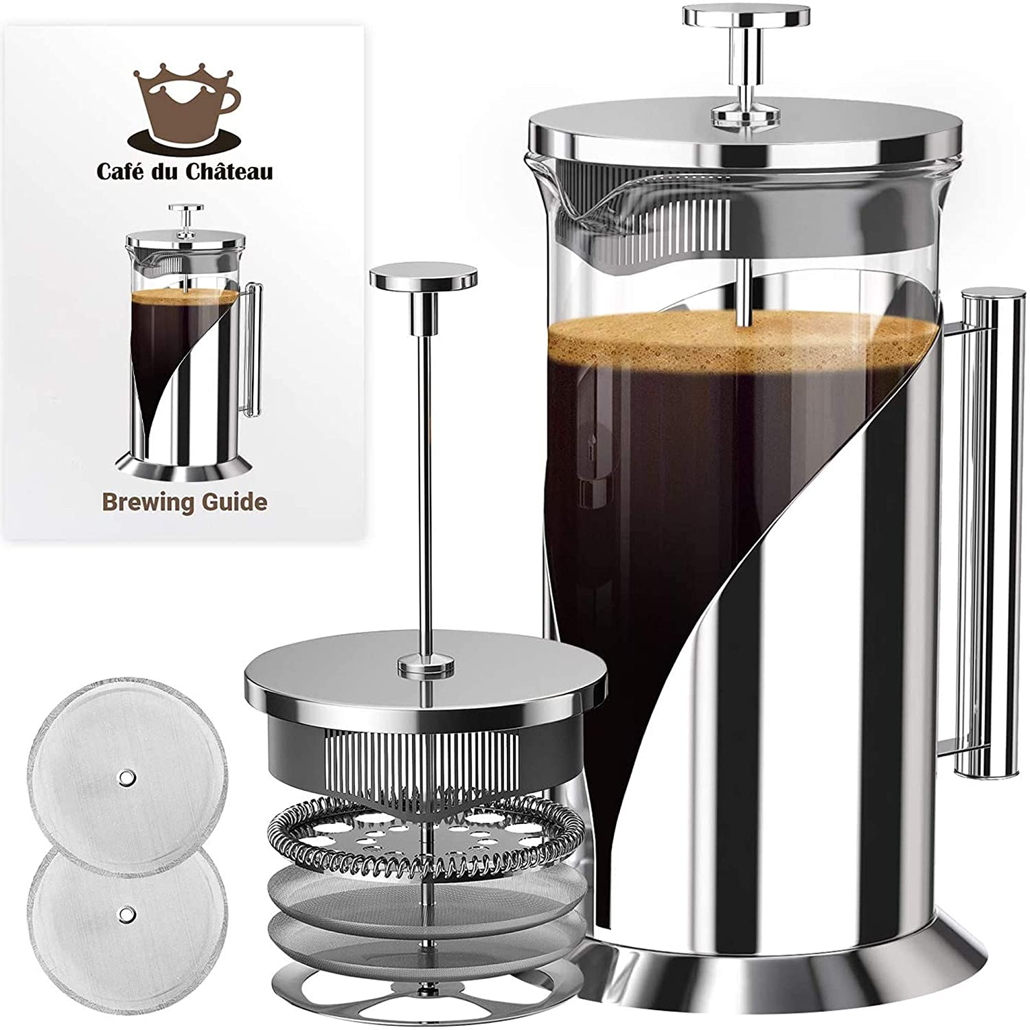 how much coffee for french press