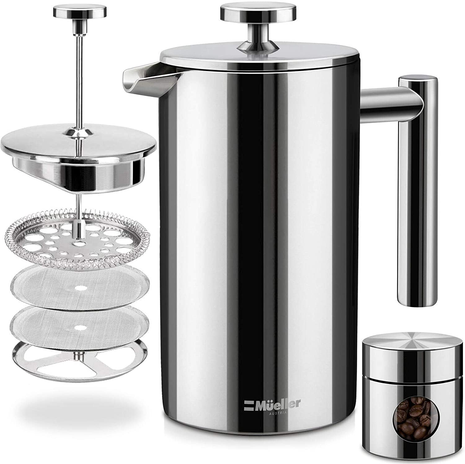 Mueller French Press Double