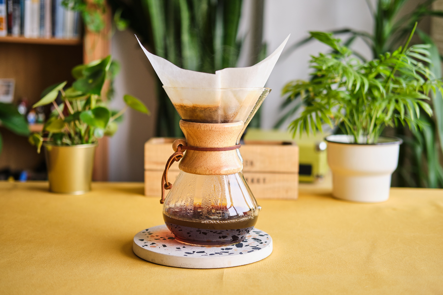 Grind for chemex feature