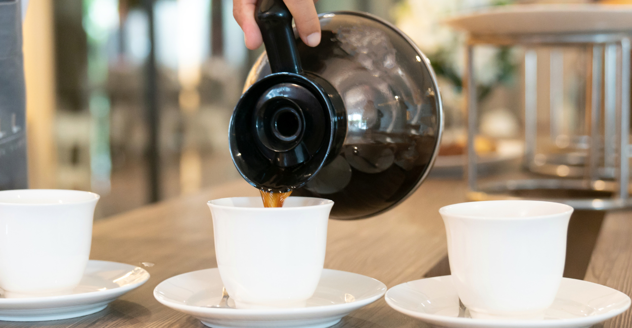 brewing coffee for any cups